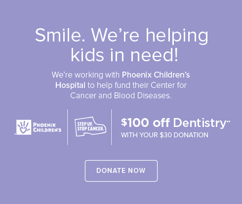 Miramonte Dental Group- We're working withPhoenix Children's Hospital to help fund their Center for Cancer and Blood Disease